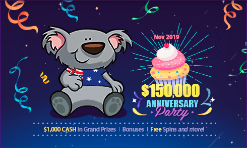 $150,000 Anniversary Party