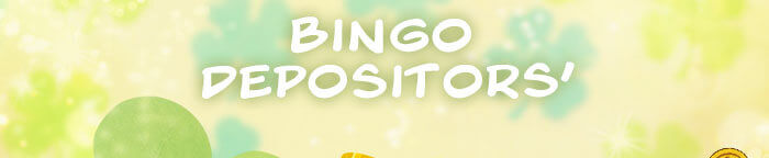 Bingo Depositors' STRIKE IT LUCKY Draw