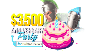 $3,500 Anniversary Party for Slots lovers!