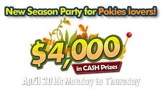New Season Party for Pokies lovers!