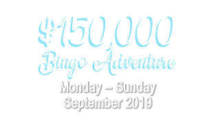 $150,000 Bingo Adventure Around the World
