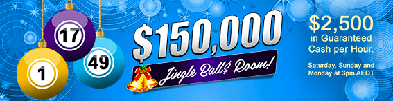 $150,000 Jingle Ball$ Room